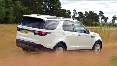 Land Rover Discovery - rear