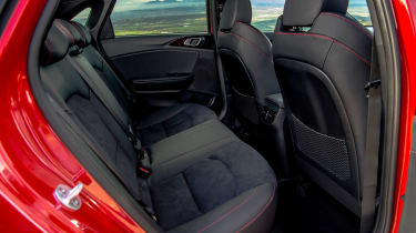 Kia Ceed GT - rear seats