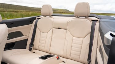 BMW M440i Convertible - rear seats