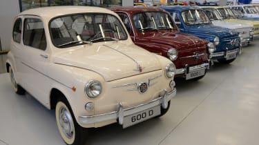 SEAT 600 D and SEAT 600 L