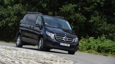 Mercedes V-Class UK drive