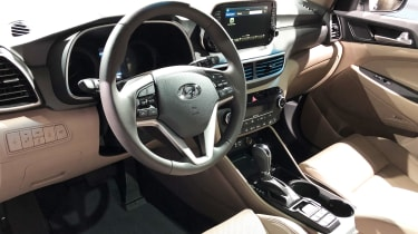 Hyundai Tucson - New York dash