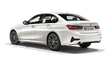BMW 3 Series - rear static white