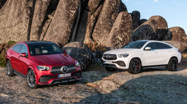 Mercedes GLE Coupe & Mercedes-AMG GLE 53 Coupe