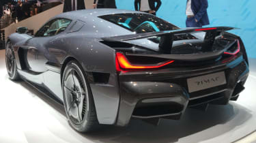 Rimac C2 rear Geneva