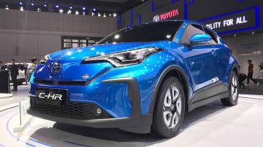 Toyota C-HR EV - Shanghai front