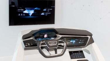 Audi Virtual Dashboard - demo model 2