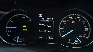 Toyota Yaris GR Sport - dials