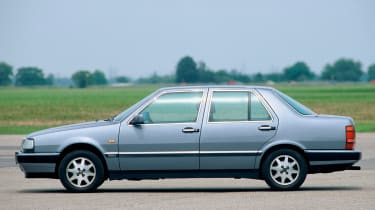 The Lancia Thema 8.32 looked plain, but it featured a 32-valve Ferrari V8 under the bonnet - hence the name.