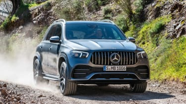 Mercedes-AMG GLE 53 - front off-road