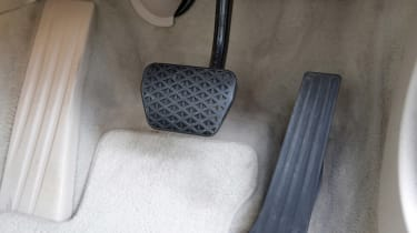 Used BMW 5 Series - pedals