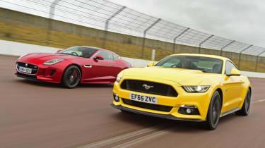 Ford Mustang vs Jaguar F-Type