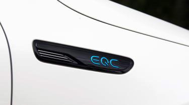Mercedes EQC - EQC badge
