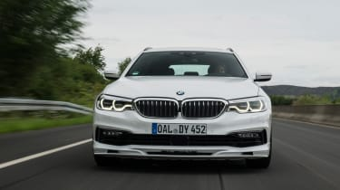 BMW Alpina D5 S Touring - full front