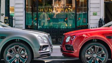 Bentley Bentayga Huntsman - front outside shop
