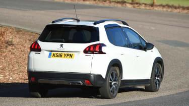 Peugeot 2008 - rear cornering