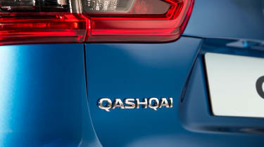 New Nissan Qashqai facelift - Qashqai badge