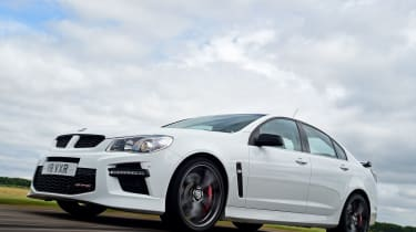 Vauxhall VXR8 GTS - front tracking