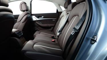 Audi A8 saloon 2014 rear seats