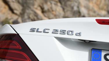 Mercedes SLC roadster 2016 - badge