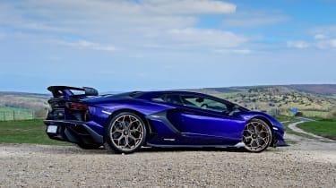Lamborghini Aventador SVJ - rear static