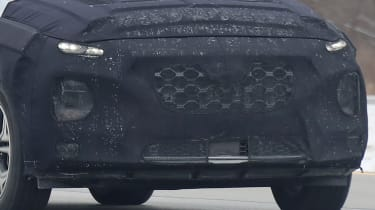2019 Hyundai Santa Fe - front bumper