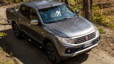 Fiat Fullback pick-up - scene overhead