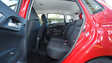 Honda Jazz - rear seats