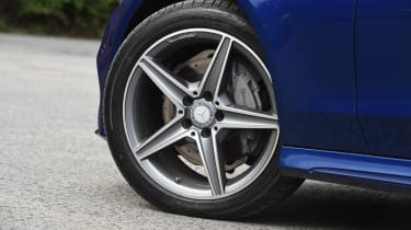 Range Rover Evoque Convertible vs Mercedes C-Class Cabriolet - C-Class alloy