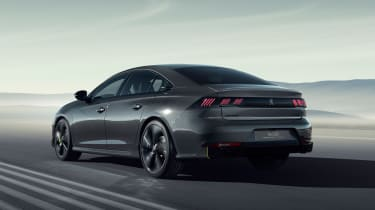 Peugeot 508 Sport Engineered concept - rear