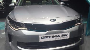 Kia Optima Sportswagen PHEV Geneva - full front