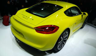 Porsche Cayman S rear