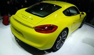 Porsche Cayman S rear