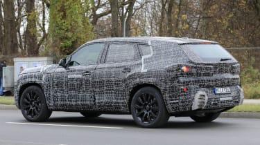 BMW X8 - spyshot 15