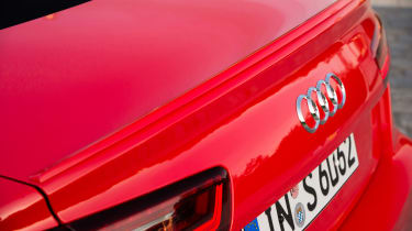 Audi S6 saloon 2014 tail