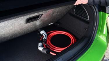 Vauxhall Mokka-e - charging cable storage