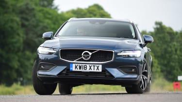 Volvo V60 - front cornering