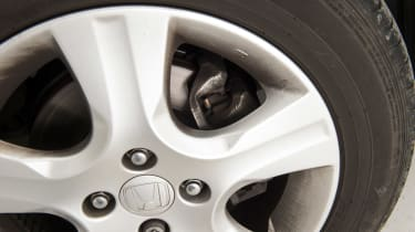 Used Honda Jazz - brakes