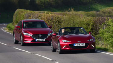 Mazda 6 long termer - final report tracking with MX-5