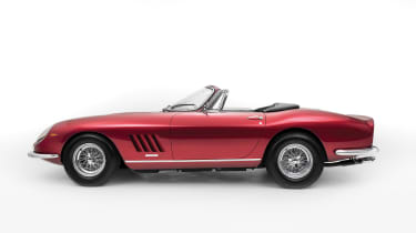 Ferrari 275 GTS/4 NART Spider - side profile