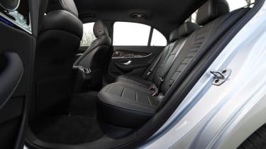 Mercedes E 220d Sport - rear seats