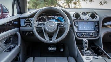 Bentley Bentayga luxury SUV dashboard