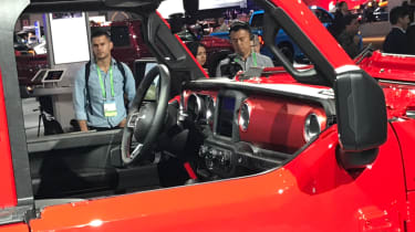 2018 Jeep Wrangler new - interior