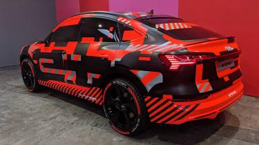Audi e-tron sportback static geneva