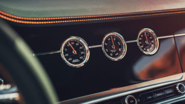 Bentley Flying Spur - dashboard