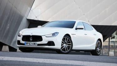 Maserati Ghibli 2014 static