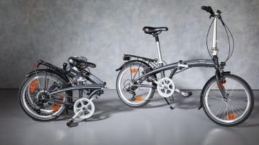 Aldi Classic Lightweight Folding Bike folded