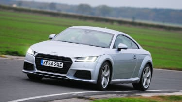 Audi TT - front cornering