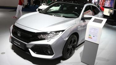 Frankfurt - Honda Civic diesel - front quarter