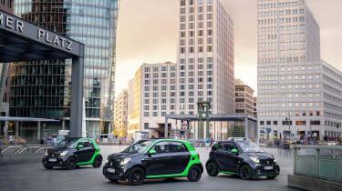 Smart Electric Drive range